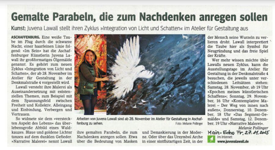 Kulturpresse Main Echo aschaffenburg